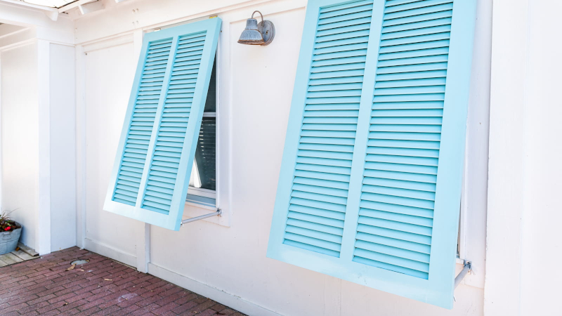 Bahama Shutters in Wilmington, North Carolina